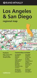 Buy map Los Angeles and San Diego, California Regional by Rand McNally from California Maps Store