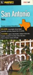Buy map San Antonio, Texas by Kappa Map Group from Texas Maps Store