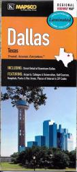 Buy map Dallas, Texas, laminated by Kappa Map Group from Texas Maps Store