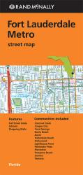 Buy map Fort Lauderdale, Florida Metro by Rand McNally in Florida Map Store