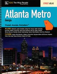 Buy map Atlanta, Georgia, Metro by Kappa Map Group