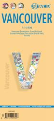 Buy map Vancouver, Canada by Borch GmbH.