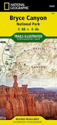 Buy map Bryce Canyon National Park, Utah, Map 219 by National Geographic Maps from Utah Maps Store