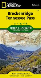 Buy map Breckenridge and Tennessee Pass, Colorado, Map 109 by National Geographic Maps from Tennessee Maps Store