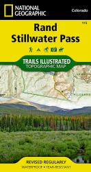 Buy map Rand and Stillwater Pass, Map 115 by National Geographic Maps from Colorado Maps Store