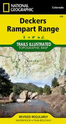 Buy map Deckers and Rampart Range, Colorado, Map 135 by National Geographic Maps