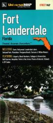 Buy map Fort Lauderdale, Florida by Kappa Map Group