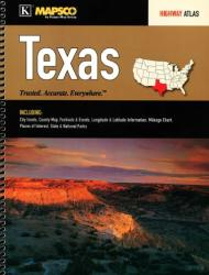 Buy map Texas, Highway Atlas by Kappa Map Group from Texas Maps Store
