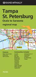 Buy map Tampa, St Petersburg and Ocala to Sarasota Regional by Rand McNally from Florida Maps Store