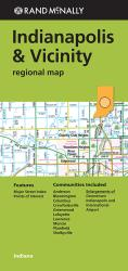 Buy map Indianapolis, Indiana and Vicinity Regional by Rand McNally from Indiana Maps Store
