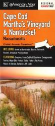 Buy map Cape Cod, Marthas Vineyard and Nantucket, Massachusetts by Kappa Map Group from Massachusetts Maps Store