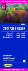 Buy map Canada, Central by Reise Know-How Verlag from Canada Maps Store