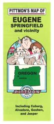 Buy map Eugene and Springfield, Oregon Vicinity by Pittmon Map Company from Oregon Maps Store
