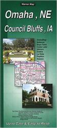 Buy map Omaha, Nebraska and Council Bluffs, Iowa by The Seeger Map Company Inc. from Nebraska Maps Store