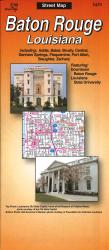 Buy map Baton Rouge, Louisiana by The Seeger Map Company Inc. from Louisiana Maps Store