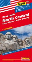 Buy map USA 2: North Central, Great Plains and Indian Country by Hallwag from United States Maps Store