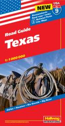 Buy map USA 9: Texas by Hallwag from Texas Maps Store