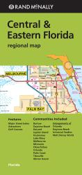 Buy map Florida, Central and Eastern Regional by Rand McNally from Florida Maps Store
