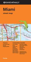 Buy map Miami, Florida by Rand McNally