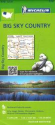 Buy map Big Sky Country (172) by Michelin Maps and Guides from United States Maps Store