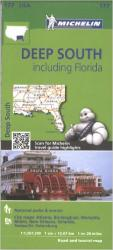 Buy map United States, Deep South including Florida (177) by Michelin Maps and Guides from United States Maps Store