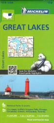 Buy map Great Lakes (173) by Michelin Maps and Guides from United States Maps Store
