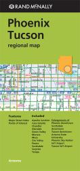 Buy map Phoenix and Tuscon, Arizona Regional by Rand McNally from Arizona Maps Store