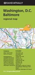 Buy map Washington, D.C. and Baltimore Regional by Rand McNally from District of Columbia Maps Store