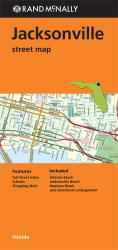 Buy map Jacksonville, Florida by Rand McNally from Florida Maps Store