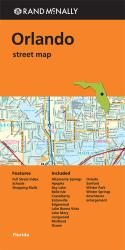 Buy map Orlando, Florida by Rand McNally from Florida Maps Store