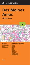Buy map Des Moines and Ames, Iowa by Rand McNally