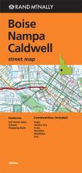 Buy map Boise, Nampa and Caldwell, Idaho by Rand McNally