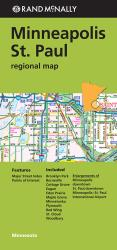 Buy map Minneapolis and St. Paul, Minnesota, Regional by Rand McNally