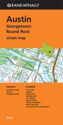 Buy map Austin, Georgetown and Round Rock, Texas by Rand McNally from Texas Maps Store