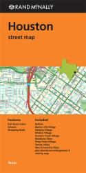 Buy map Houston, Texas, Street Map by Rand McNally from Texas Maps Store