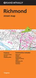 Buy map Richmond, Virginia by Rand McNally from Virginia Maps Store