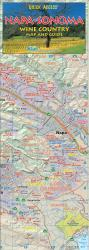 Buy map Napa and Sonoma, Wine Country, Quick Access Map by Global Graphics