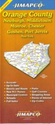 Buy map Orange County, New York by Jimapco from New York Maps Store