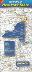 Buy map New York State by Jimapco from New York Maps Store