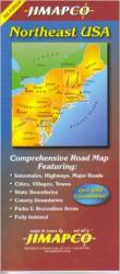 Buy map United States, Northeast by Jimapco from United States Maps Store
