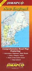 Buy map New England by Jimapco from United States Maps Store