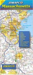 Buy map Massachusetts by Jimapco