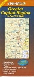 Buy map New York State, Greater Capital Region by Jimapco
