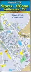 Buy map Willimantic, Connecticut with Storrs and Uconn, Quickmap by Jimapco from Connecticut Maps Store