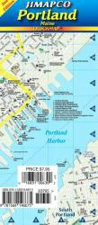 Buy map Portland, Maine, Quickmap by Jimapco from Maine Maps Store