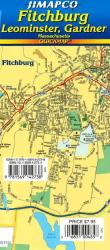 Buy map Fitchburg, Leominster and Gardner, Massachusetts, Quickmap by Jimapco from United States Maps Store