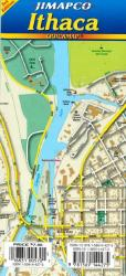 Buy map Ithaca, New York, Quickmap by Jimapco from New York Maps Store