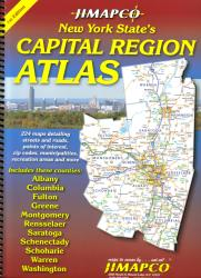 Buy map New York State, Capital Region, Atlas by Jimapco