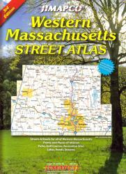 Buy map Massachusetts, Western, Atlas by Jimapco from Massachusetts Maps Store