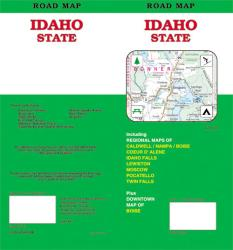 Buy map Idaho, Road Map by GM Johnson